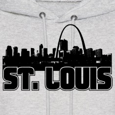 St. Louis Skyline Hooded Sweatshirt
