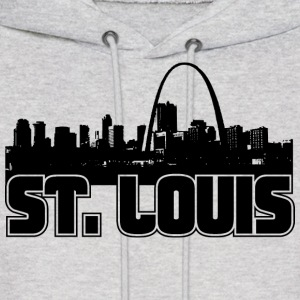 St. Louis Skyline Hooded Sweatshirt - Men's Hoodie