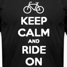Keep Calm and Ride On Men's T-shirt