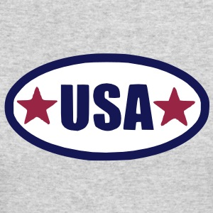 USA Long Sleeve Shirts - Men's Long Sleeve T-Shirt by Next Level