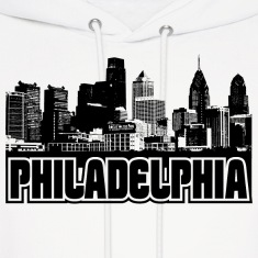 Philadelphia Skyline Hooded Sweatshirt