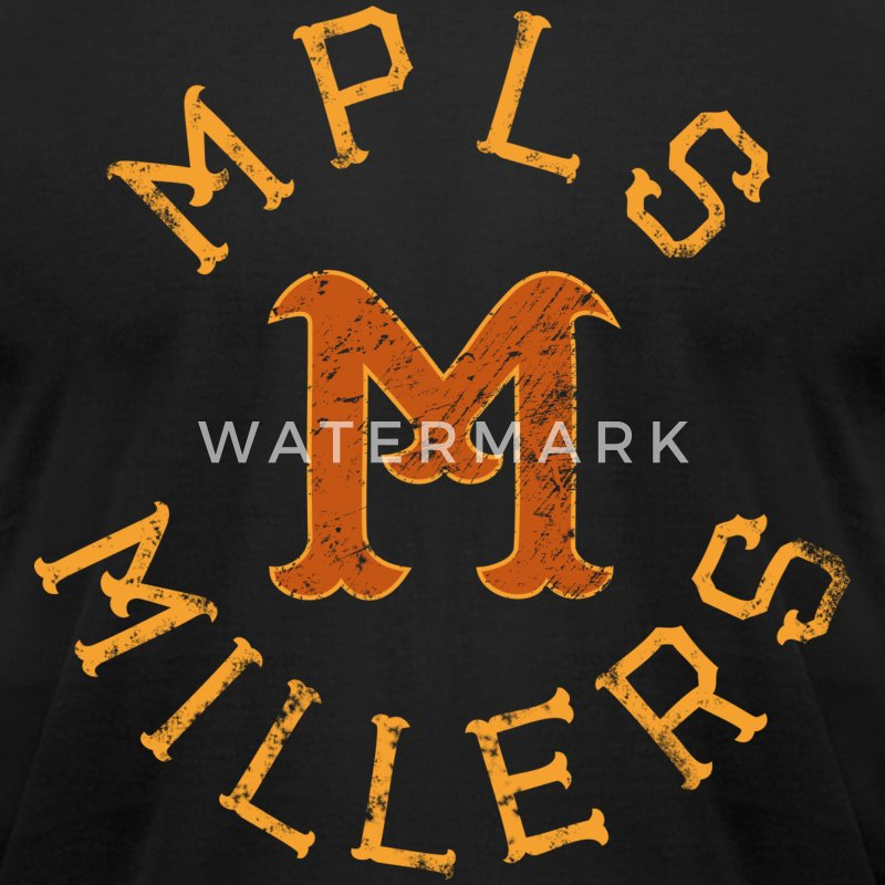 MINNEAPOLIS MILLERS - Men's T-Shirt by American Apparel