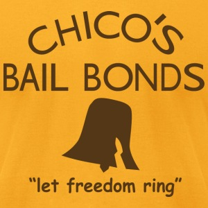 Chicos Bail Bonds American Apparel T-Shirt - Men's T-Shirt by American Apparel