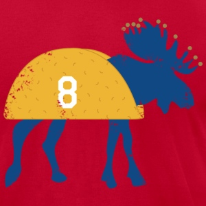 MOOSE TACO - Men's T-Shirt by American Apparel