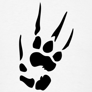 Dragon Paw VECTOR T-Shirts - Men's T-Shirt