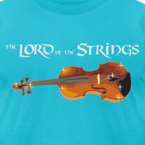 the Lord of the Strings - digital T-Shirts - Men's T-Shirt by American Apparel