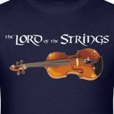 the Lord of the Strings - digital T-Shirts