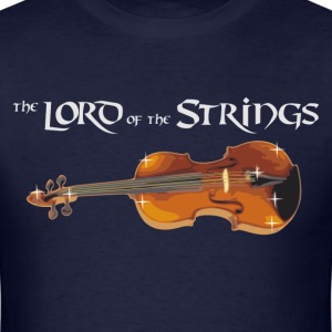 the Lord of the Strings - digital T-Shirts - Men's T-Shirt
