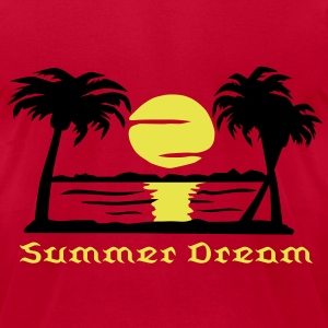 Summer Dream, Men's T-Shirt - Men's T-Shirt by American Apparel
