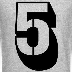 5 FIVE Long Sleeve Shirts - Crewneck Sweatshirt