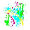 Spray Paint Splatter Colorful Graffiti Graphic Design Picture - Cool tshirt and Hoodie Sweater! - Women's V-Neck T-Shirt