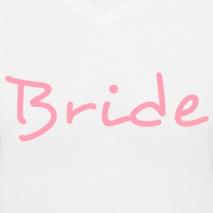 Bride Text Graphic Design Vector - Perfect for tshirts or hoodies for the Bride to Be!