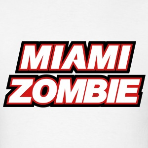 Miami Zombie Shirt - Men's T-Shirt
