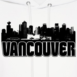 Vancouver Skyline Hooded Sweatshirt - Men's Hoodie