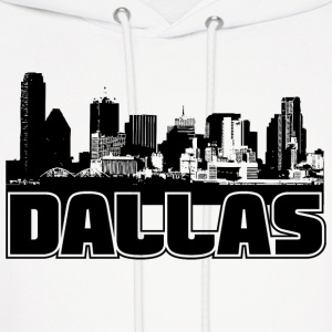 Dallas Skyline Hooded Sweatshirt - Men's Hoodie