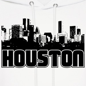 Houston Skyline Hooded Sweatshirt - Men's Hoodie