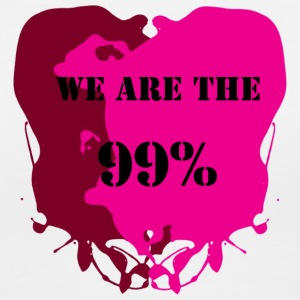 We are the 99% - Women's V-Neck T-Shirt