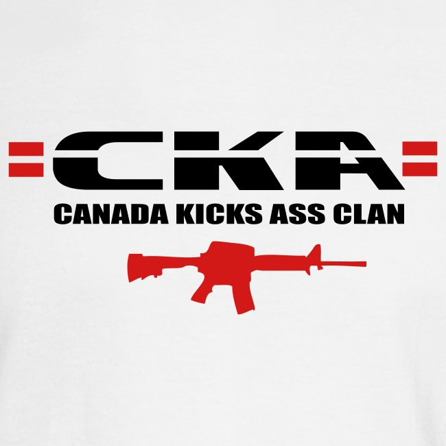 =CKA= Long Sleeve (text on back)