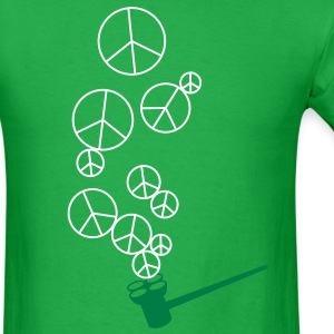 Peace Pipe Bubbles T-shirt T-Shirts - Men's T-Shirt
