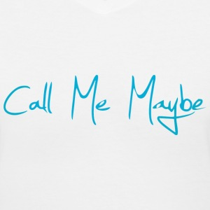 Call Me Maybe Women's T-Shirts - Women's V-Neck T-Shirt