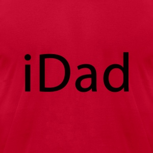 iDad T-Shirts - Men's T-Shirt by American Apparel