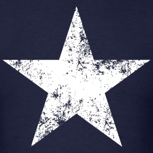 Distressed Bonnie Blue star flag tee - Men's T-Shirt