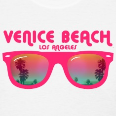 Venice beach los angeles Women's T-Shirts