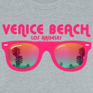 Venice Beach Los Angeles T-Shirts - Unisex Tri-Blend T-Shirt by American Apparel