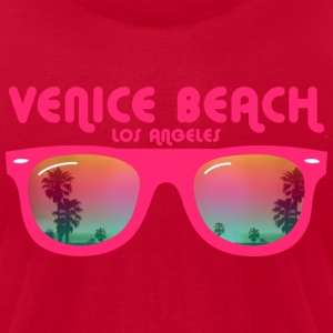 Venice beach los angeles T-Shirts - Men's T-Shirt by American Apparel