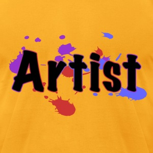 artist T-Shirts - Men's T-Shirt by American Apparel