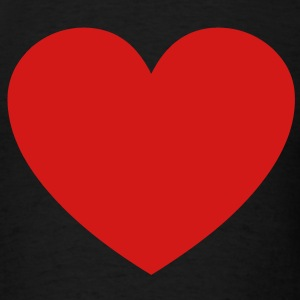 red_heart T-Shirts - Men's T-Shirt