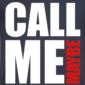 Call Me Maybe T-Shirts - Men's V-Neck T-Shirt by Canvas