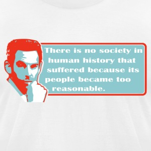 Sam Harris - Society - Men's T-Shirt by American Apparel