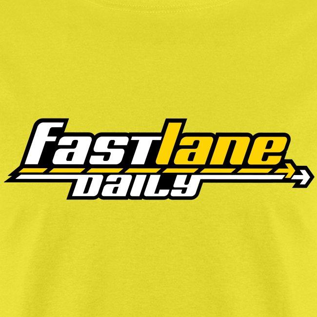 Fast Lane Daily Logo on T