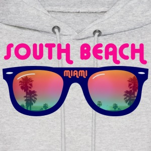 South Beach Miami sunglasses Hoodies - Men's Hoodie