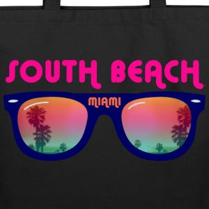 South Beach Miami sunglasses Bags  - Eco-Friendly Cotton Tote