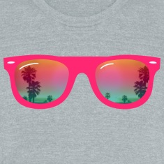 sunglasses palms and beach T-Shirts