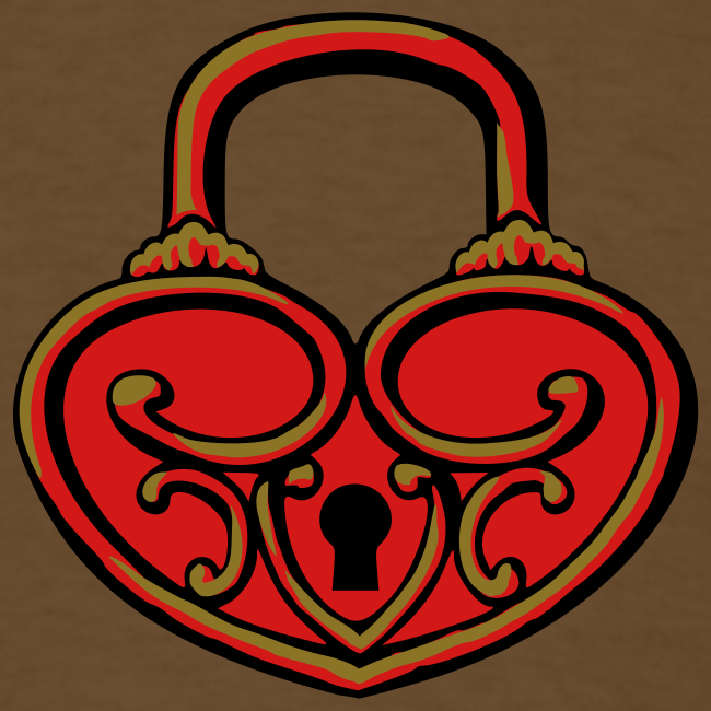 Pop My Lock 3D-Red/Gold