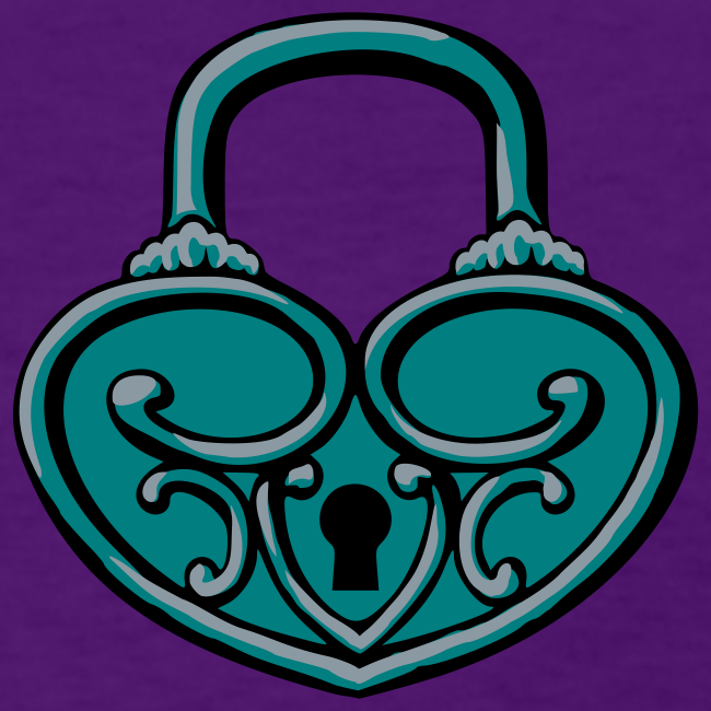 Pop My Lock 3D-Turquoise/Silver