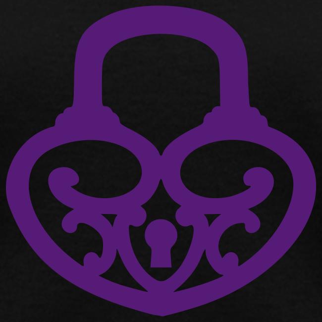 Pop My Lock-Purple Glitter