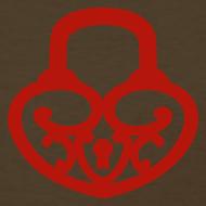 Design ~ Pop My Lock-Red Glitter