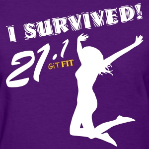 Women's Half Marathon · I Survived! Women's T-Shirts - Women's T-Shirt