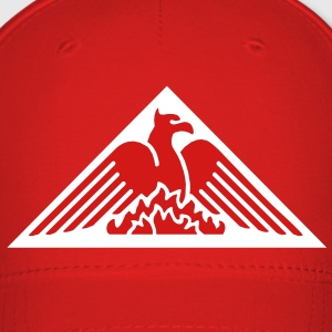 Phoenix Fire Pyramid on Red Baseball Hat - Baseball Cap