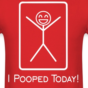 pooped T-Shirts - Men's T-Shirt