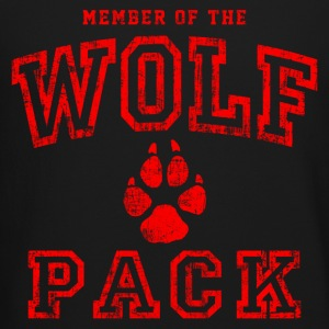 Wolf Pack Red Long Sleeve Shirts - Crewneck Sweatshirt