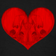 Design ~ All in Vein Love is Suicide T-Shirt