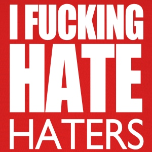I Fucking Hate Haters VECTOR Caps - Baseball Cap
