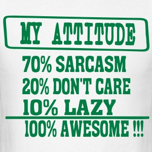MY ATTITUDE - Men's T-Shirt
