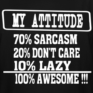 MY ATTITUDE T-Shirts - Men's Tall T-Shirt