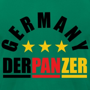 DER PANZER - GERMANY T-Shirts - Men's T-Shirt by American Apparel